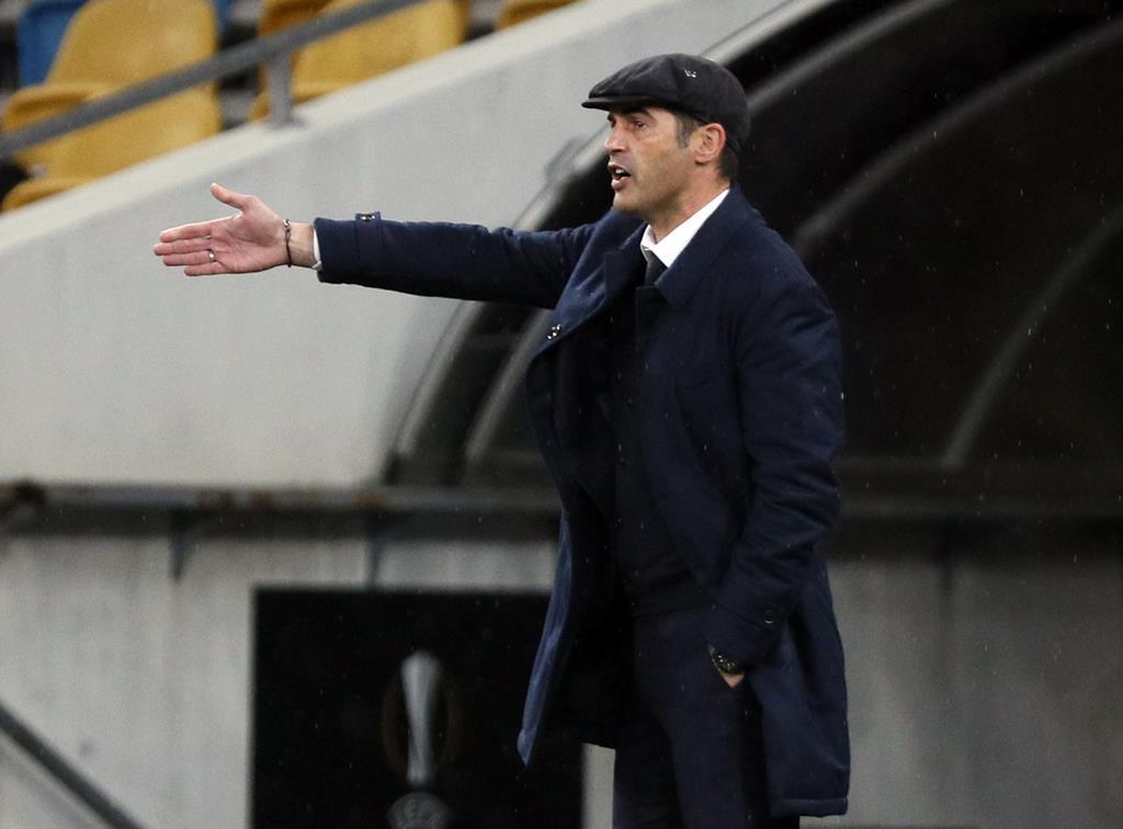 Paulo Fonseca deixa a Roma, depois de duas épocas no Olímpico Foto: Gleb Garanich/Reuters