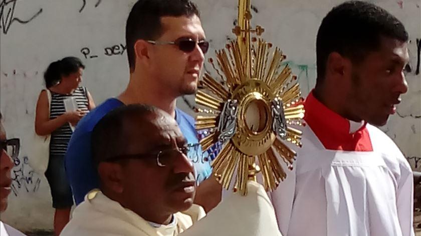 Porta Aberta para o Pe Gilmar Simplício, Missionário Palotino
