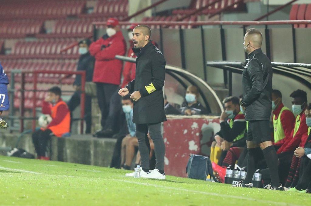 Treinador Pedro Ribeiro recebeu quatro reforços em janeiro. Foto: Penafiel