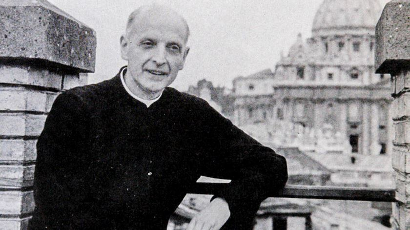 Pedro Arrupe, antigo superior dos Jesuitas. Foto: DR