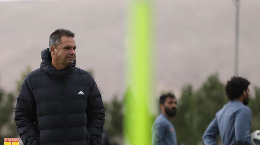 Pedro Barny é o treinador do El Gouna FC. Foto: Facebook