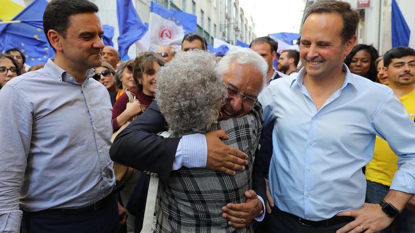 """""""É a primeira vez em 20 anos que um partido no poder ganha as europeias"""", diz Medina"""