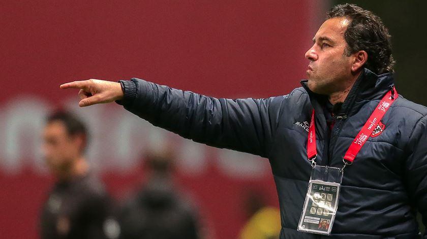 """""""A bola não quis entrar"""". A explicação do treinador da Oliveirense"""