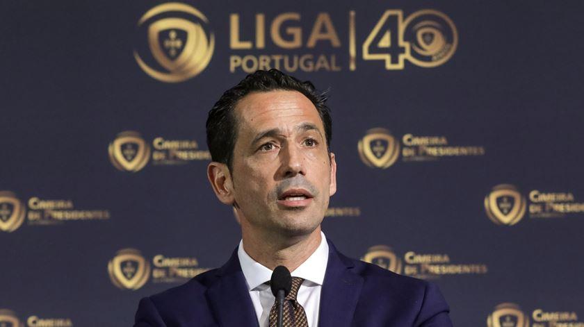 Pedro Proença, presidente da Liga Portugal. Foto: Paulo Novais/Lusa