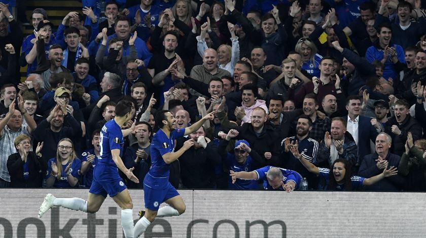 Arsenal, Valência e Chelsea marcam presença nas meias-finais da Liga Europa