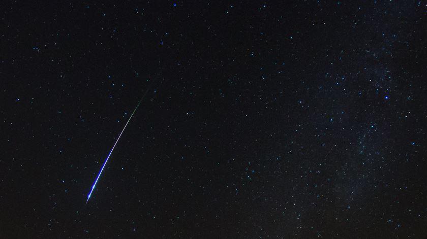 Uma das estrelas cadentes das Perseidas, Foto: Flickr.