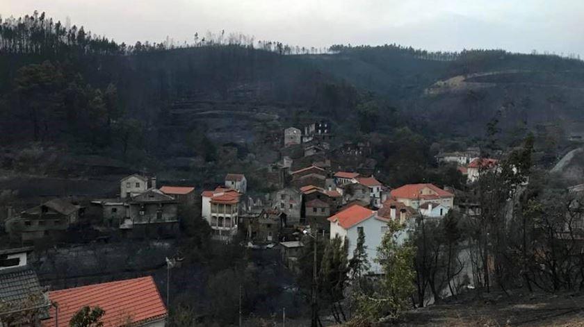Ainda há famílias sem ligações telefónicas um ano após fogos