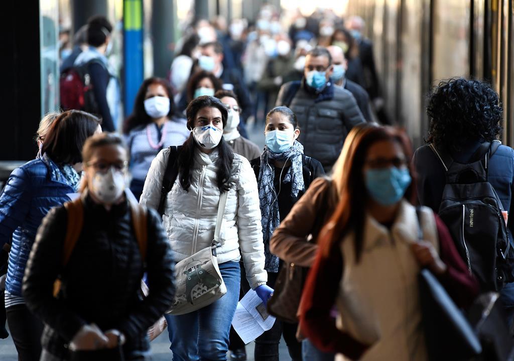 Mais de 2 milhões casos positivos de Covid em Itália desde o início da pandemia. Foto: Flavio lo Scalzo/Reuters
