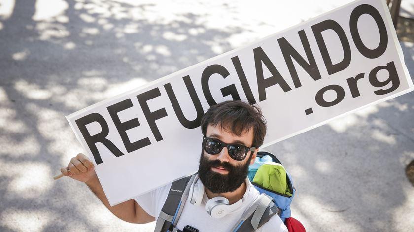 Luís quer fazer 500 quilómetros até Espanha. Todos pelos refugiados