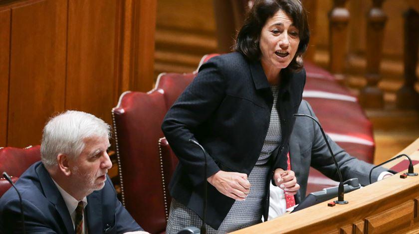 """Ministra da Administração Interna: """"Não, não me demito"""""""