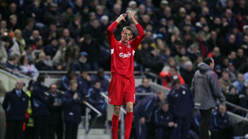 Crouch esteve três épocas no Liverpool. Foto: Michael Regan/Action Images/Reuters