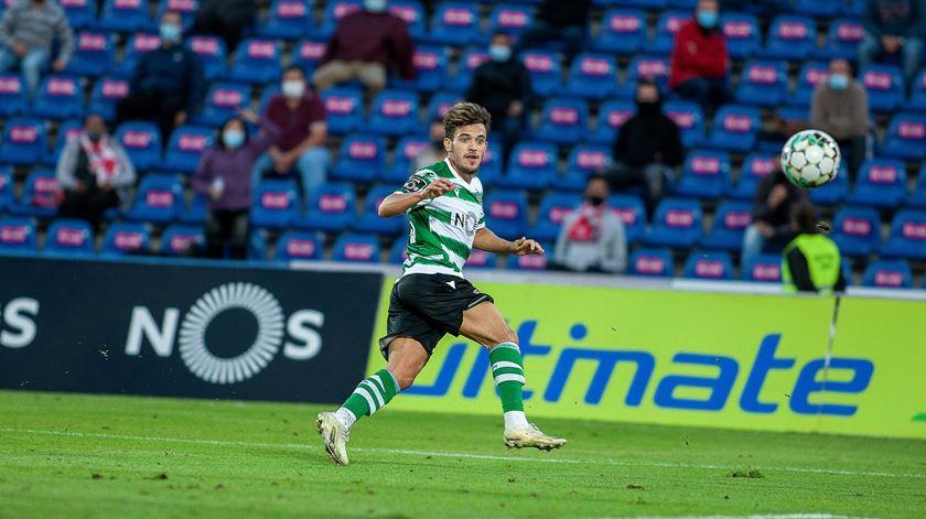 Pedro Gonçalves, Sporting. Foto: Eduardo Costa/Lusa