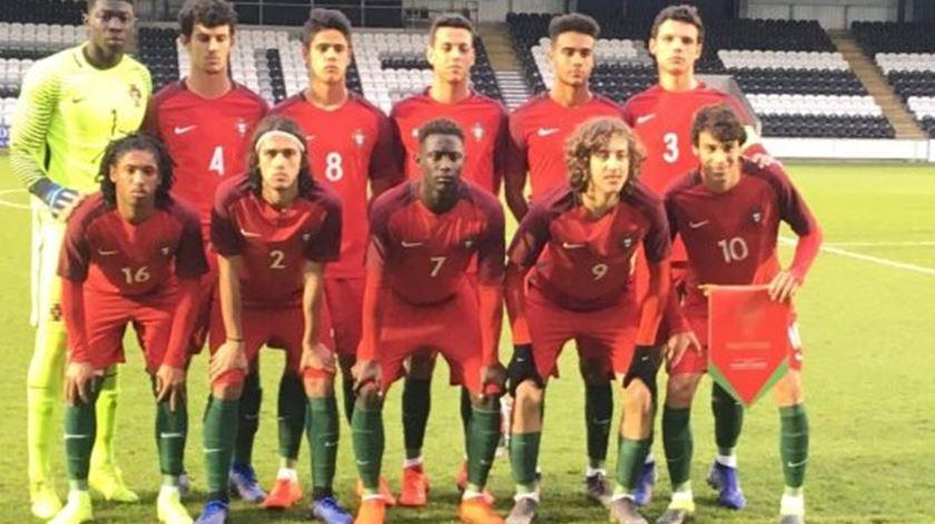 Portugal vence Escócia na Ronda de Elite de sub-17
