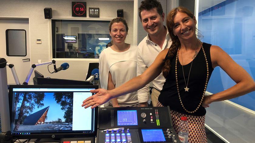 Ouça a entrevista de Ana Galvão a Helena Lucas Vieira e Pedro Miguel Ferreira - 06/08/2018