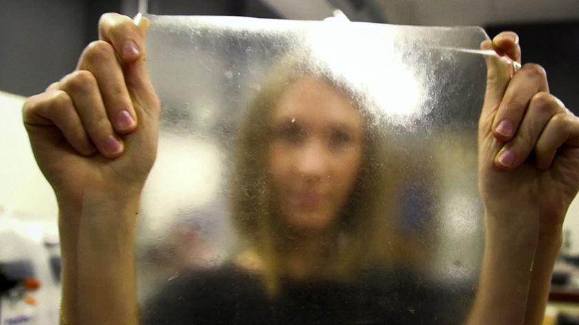 Estudante britânica inventa plástico feito com restos de peixe