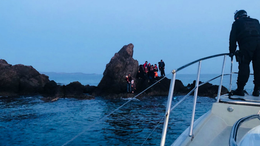 Balanço de 2018. Polícia Marítima salvou 660 migrantes na Grécia