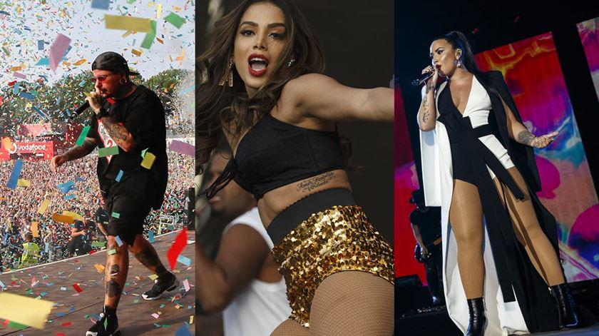 Demi Lovato, Anitta e Agir: o 2º dia do Palco Mundo