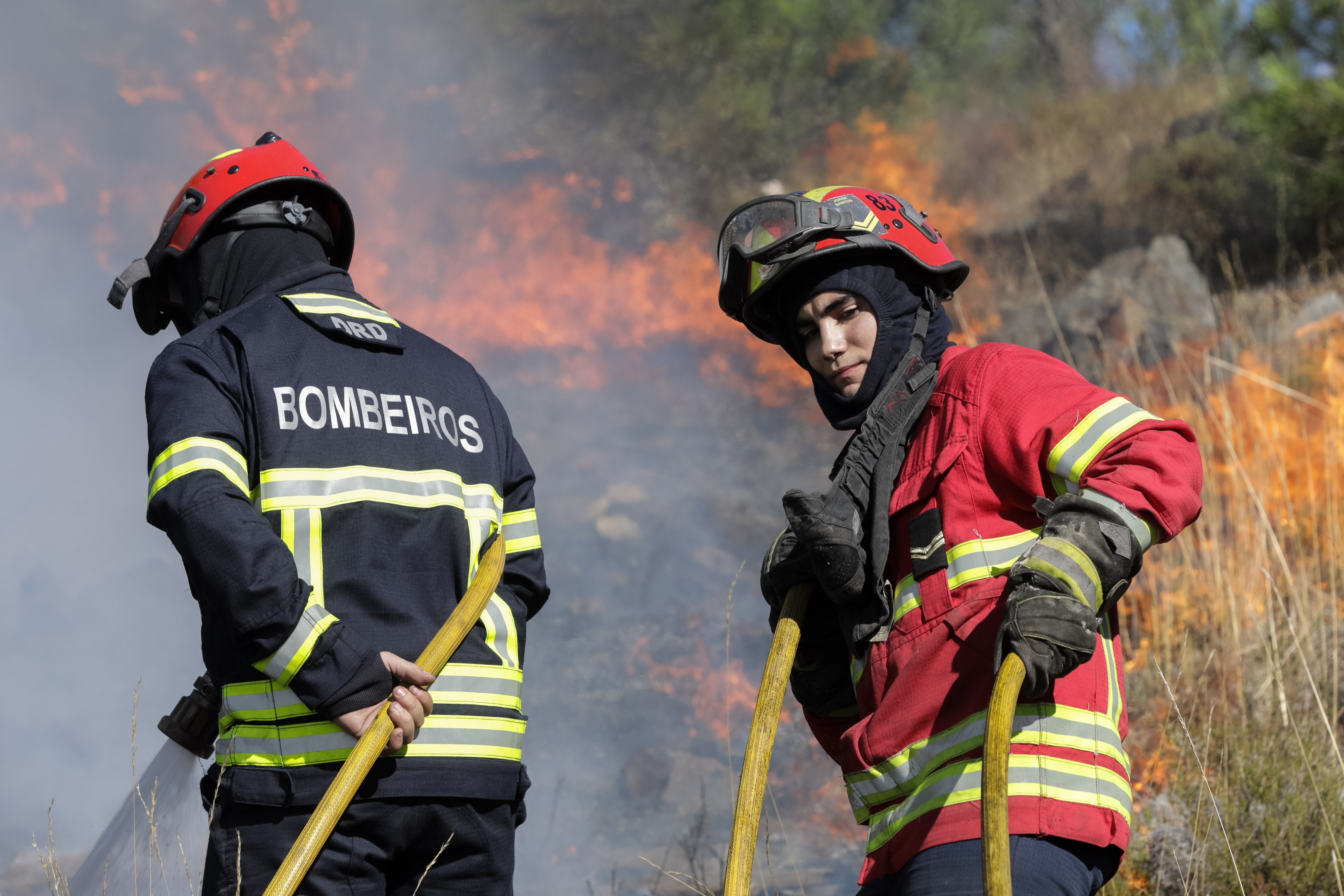 Incêndio em Pampilhosa da Serra e Arganil complica-se