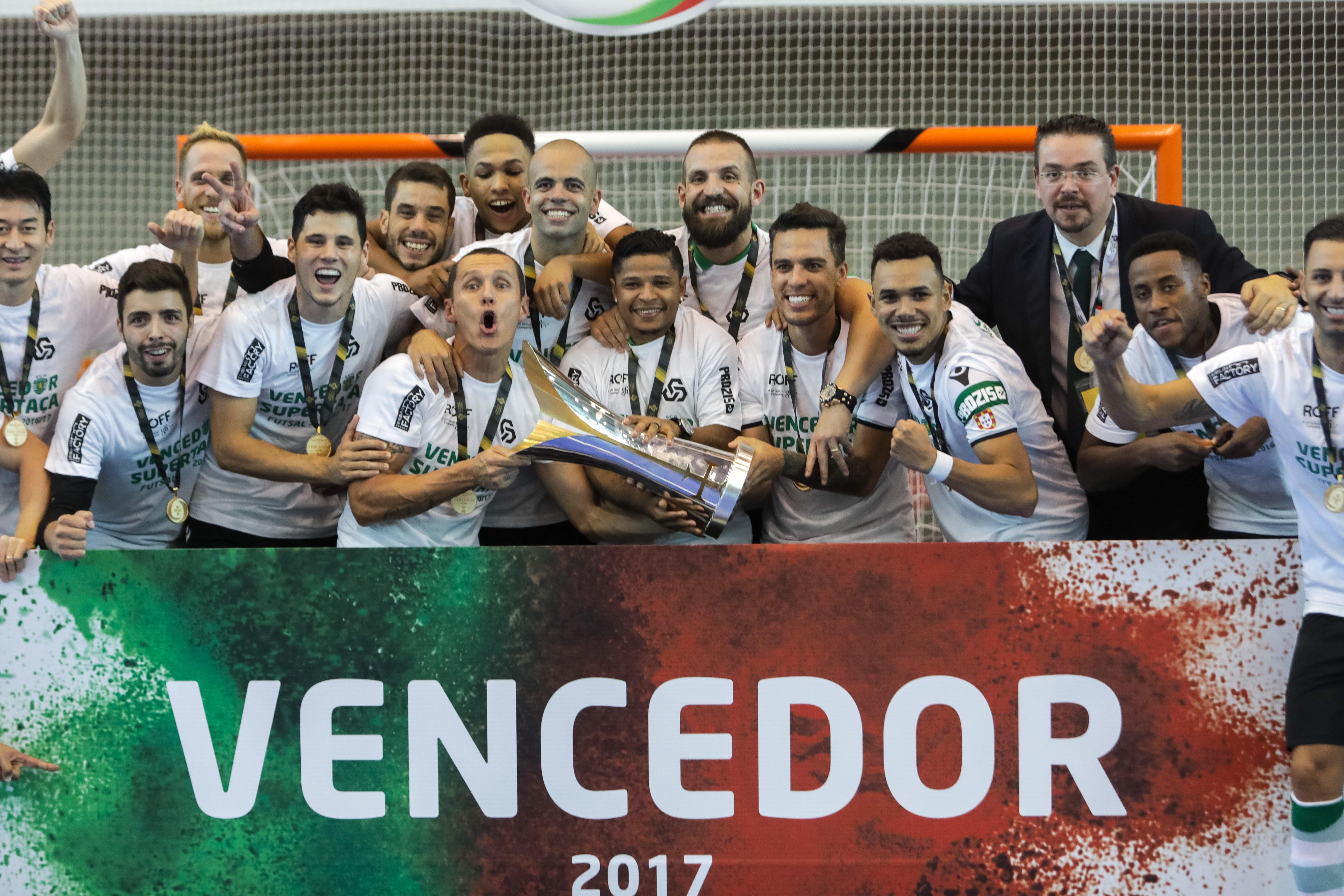 Futsal: Sporting conquista Supertaça ao Benfica