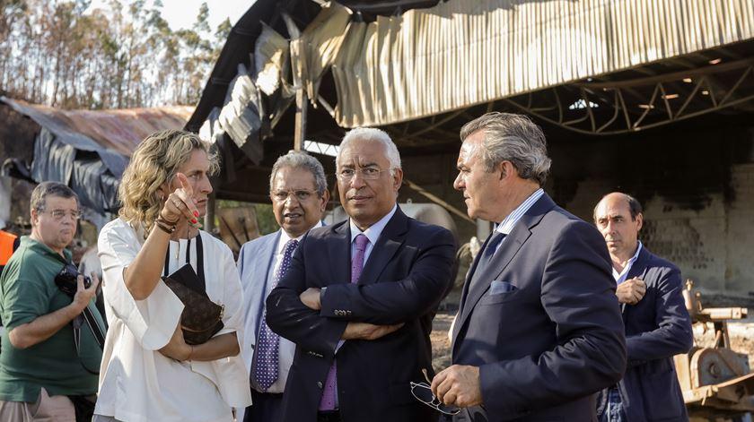 """Ajuda pós-fogos. """"Prontamente, é o que se faz na Galiza. Em Portugal é estudos"""""""