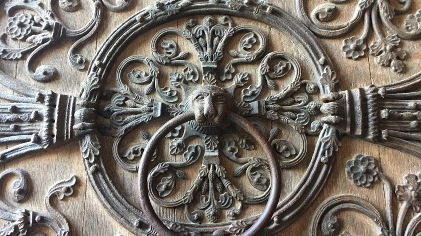 Porta do Diabo, na Notre Dame. Foto  DR.