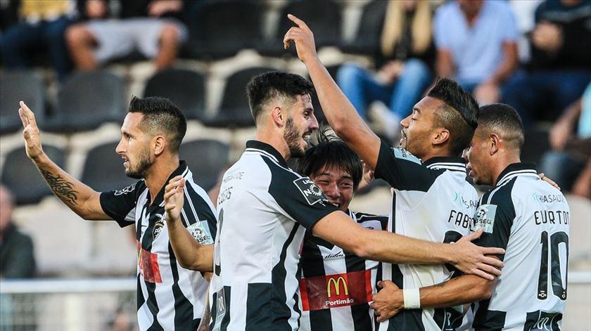 O Portimonense pode ter de abrir mão de alguns jogadores. Foto: Luís Forra/Lusa