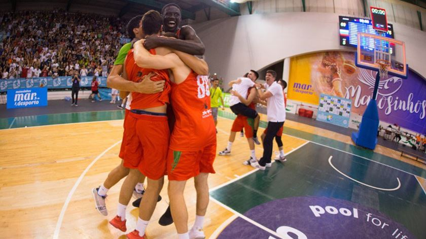 Portugal é campeão da Europa de sub-20 em basquetebol