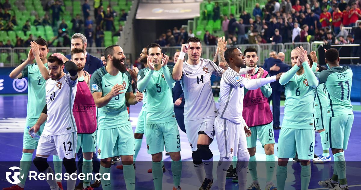 3dea52a233 Futsal. Portugal dá a volta e está na final do Europeu - Renascença