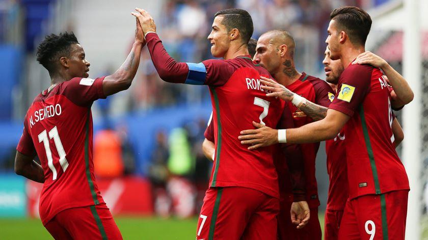Portugal pode defrontar Argélia na preparação para o Mundial da Rússia. Foto: Mário Cruz/Lusa