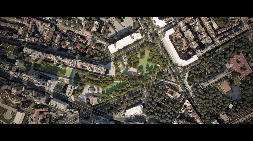 Como vai ficar a Praça de Espanha em 2020? Veja aqui