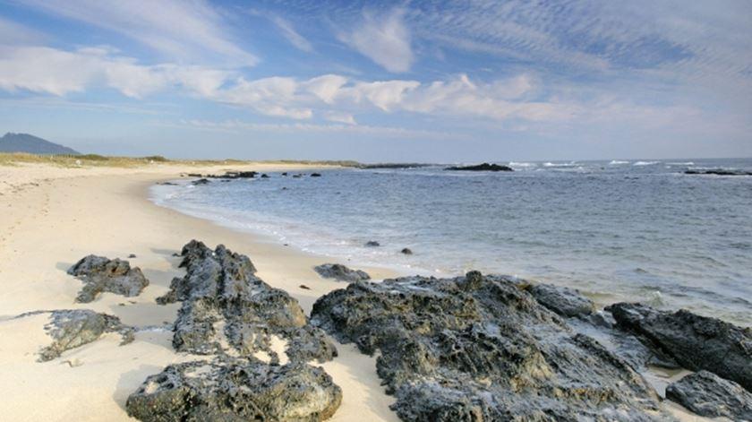 Praia do Canto Marinho, em Viana do Castelo. Foto: DR