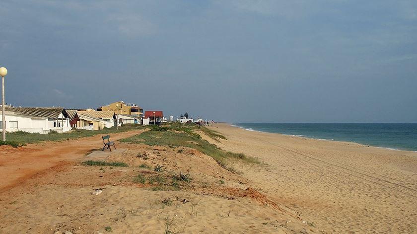 Praia de Faro Foto: DR