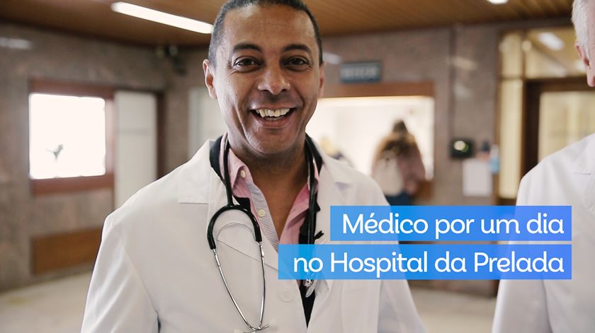 Médico por um dia no Hospital da Prelada