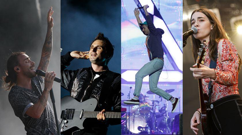 Muse, Bastilhe, Haim e Diogo Piçarra. Recorde o 1º dia de Rock in Rio