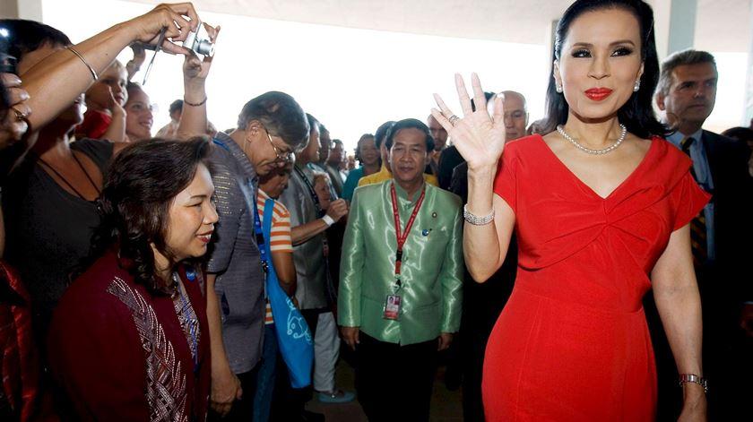 Princesa Ubolratana da Tailandia. Foto: Jorge Zapata/EPA