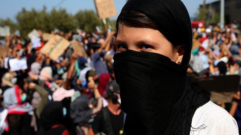 Mais de 240 refugiados em Lesbos infetados com Covid-19