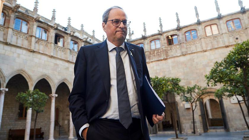 """""""Crise aberta da monarquia"""". Chefe do governo da Catalunha quer que Felipe VI abdique"""