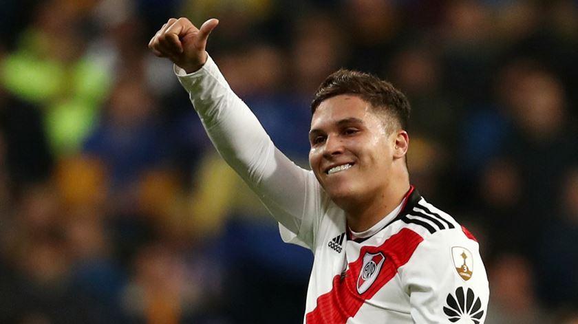 Quintero é jogador do River Plate. Foto: Sergio Perez/Reuters