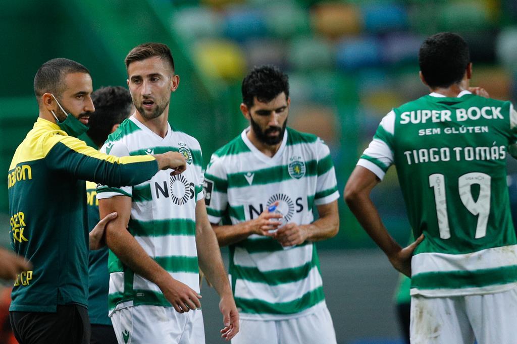Tiago Tomás é dos jogadores mais jovens do Sporting. Foto: António Cotrim/Lusa