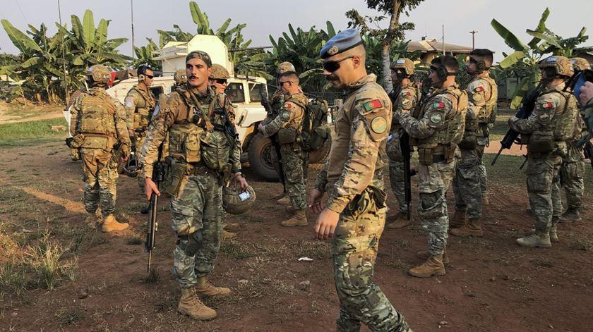 """Rep. Centro-Africana. Militares são """"Cristianos Ronaldos"""" da missão da ONU"""