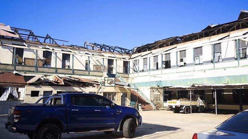Ciclone Idai. O reerguer de uma rádio numa cidade de escombros