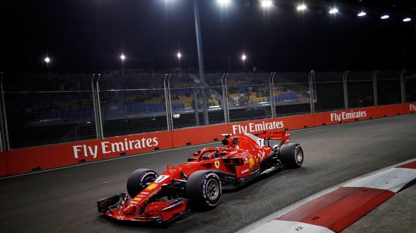Kimi Raikkonen faz as últimas corridas pela Ferrari. Foto: Kim Hong-Ji/Reuters