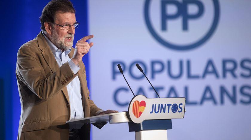 Primeiro-ministro espanhol foi a Barcelona apelar ao voto