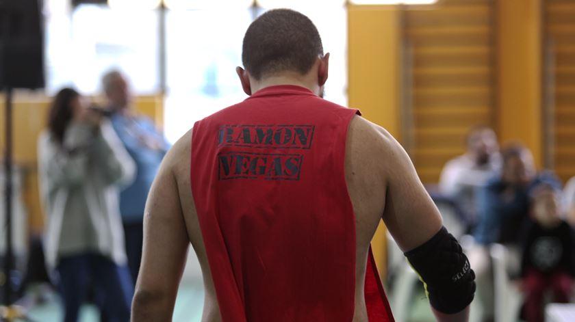 Ramon Vegas, o wrestler cubano de Queluz