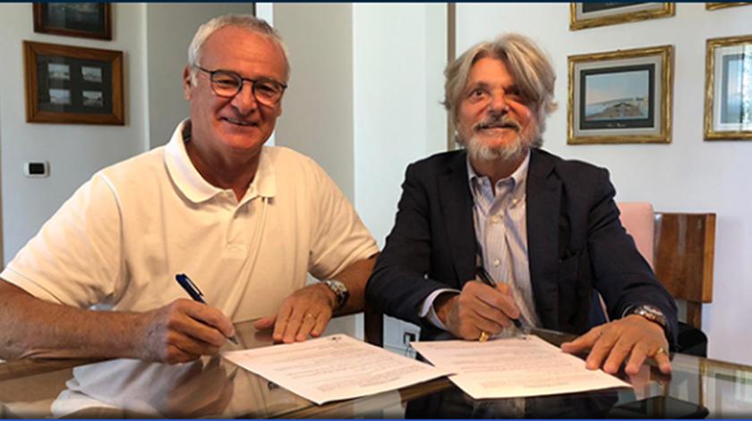 Ranieri, Sampdória. Foto: Sampdoria