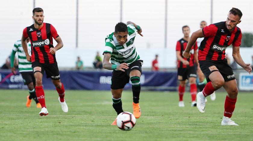 Raphinha fez 18 golos na temporada passada no Vitória de Guimarães. Foto: Sporting.