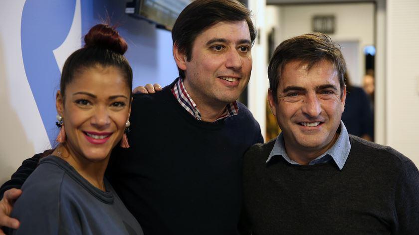 Raquel Tavares, Camané e o jornalista Miguel Coelho