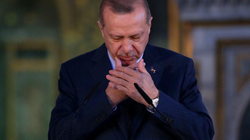 """Erdogan irritado com carta de Trump. """"Chegado o momento, daremos os passos necessários"""""""