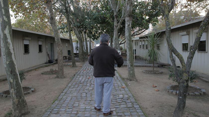 """Ex-recluso, na associação """"O companheiro"""". Foto: João Carlos Malta"""