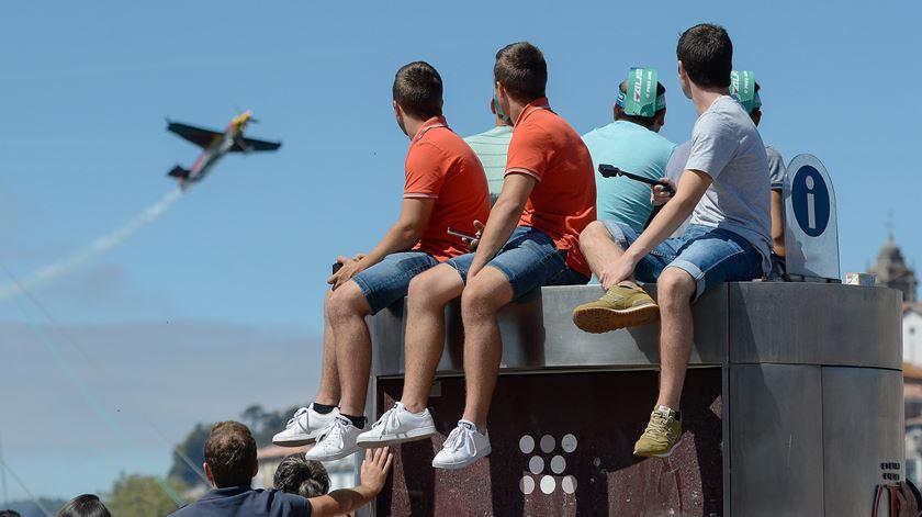 Red Bull Air Race despediu-se do Porto sem garantias de voltar